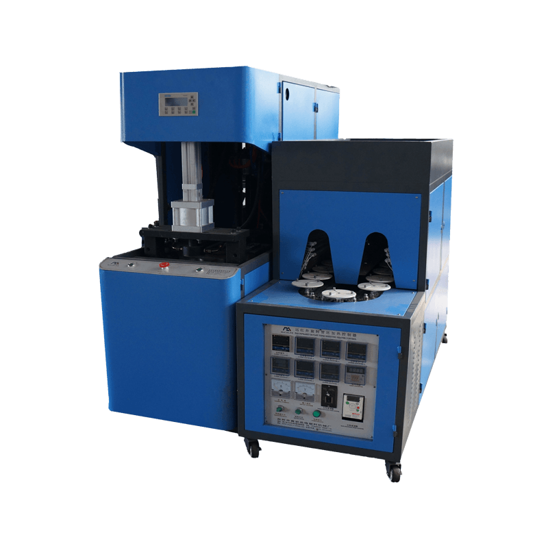 Semi-automatic PET Wide mouth Bottle Blow Molding Machine