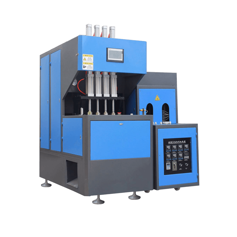 Semi-automatic 4 Cavity 2L PET Bottle Blow Molding Machine